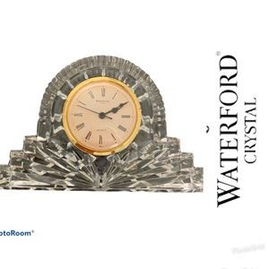 🕰OFFER ME 🕰EUC WATERFORD CLOCK 🕰